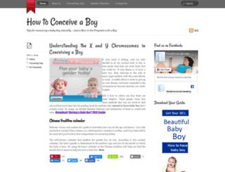 how-toconceiveaboy.com screenshot