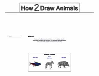 how2drawanimals.com screenshot