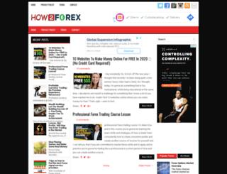how2forex.com screenshot