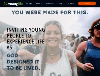 howardcounty.younglife.org screenshot