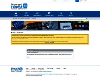 howardforums.com screenshot