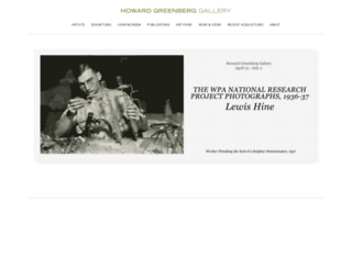 howardgreenberg.com screenshot