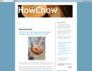 howchow.blogspot.com screenshot