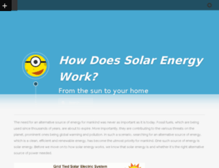 howdoessolarenergywork.net screenshot