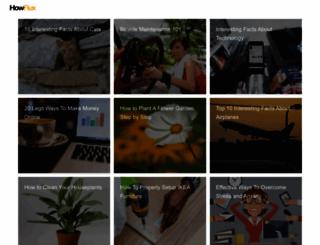 howflux.com screenshot