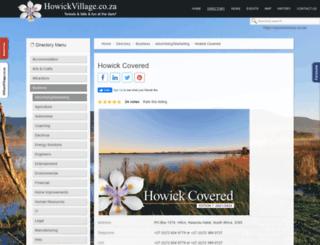 howickcovered.co.za screenshot
