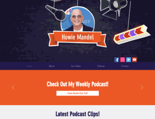 howiemandel.com screenshot