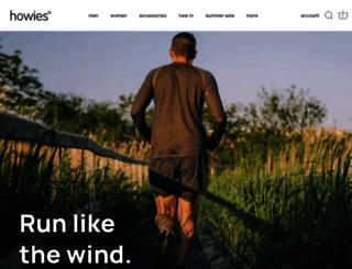 howies.co.uk screenshot