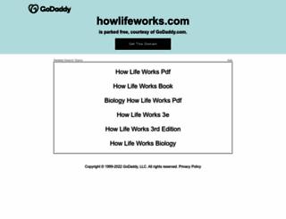howlifeworks.com screenshot