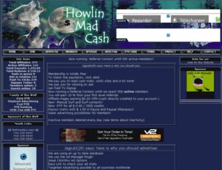 howlin-mad-cash.com screenshot