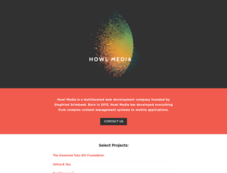 howlmedia.co.za screenshot