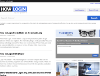 howlogin.com screenshot