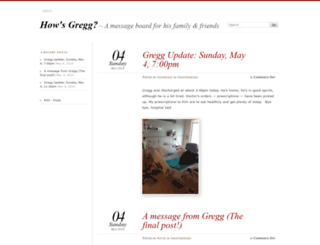 howsgregg.wordpress.com screenshot