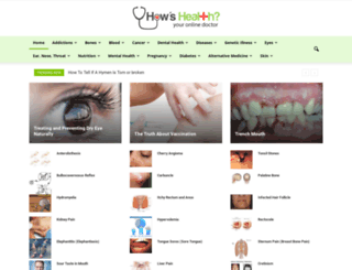 howshealth.com screenshot