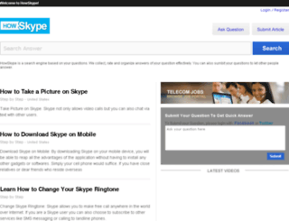 howskype.com screenshot