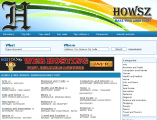 howsz.net screenshot