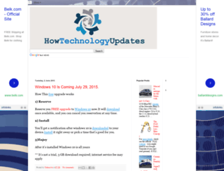 howtechnologyupdates.blogspot.in screenshot