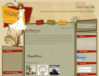 howto-livelovelife.blogspot.com screenshot