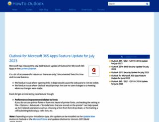 howto-outlook.com screenshot