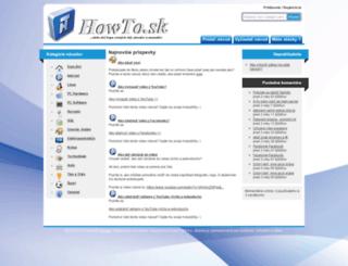howto.sk screenshot