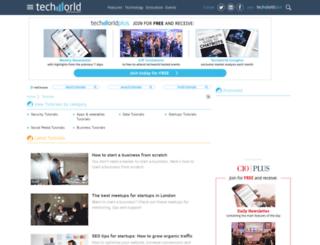 howto.techworld.com screenshot