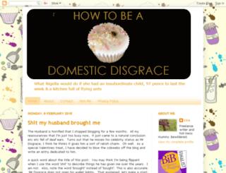 howtobeadomesticdisgrace.blogspot.fr screenshot