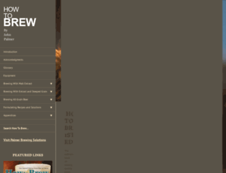 howtobrew.com screenshot