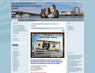 howtocorrectbusiness.com screenshot