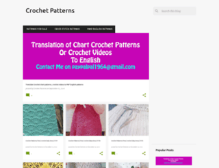 howtocrochett.blogspot.rs screenshot