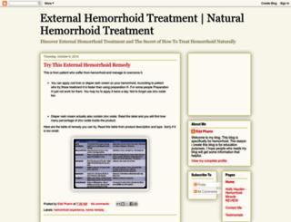 howtocurehemorrhoidproblem.blogspot.com screenshot