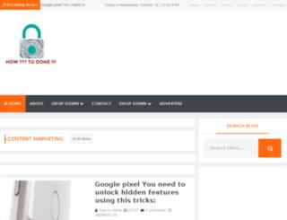 howtodone.com screenshot