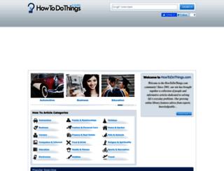 howtodothings.com screenshot