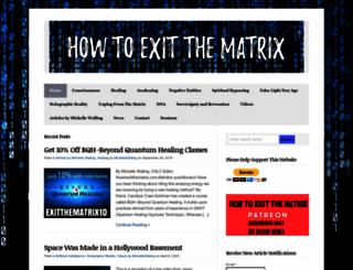 howtoexitthematrix.com screenshot