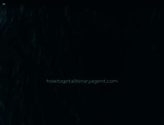 howtogetaliteraryagent.com screenshot
