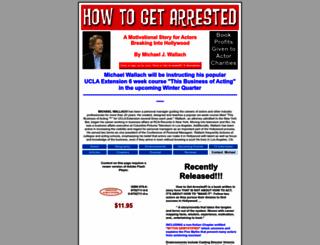 howtogetarrested.com screenshot