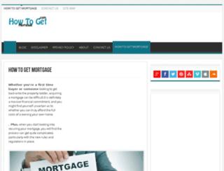 howtogetsmortgage.com screenshot