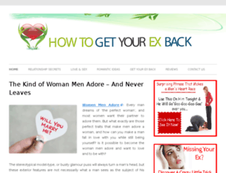 howtogetyourexbacks.com screenshot