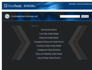 howtolearnwordpress.net screenshot
