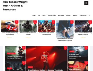 howtoloseweight.co.uk screenshot