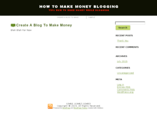 howtomakemoneybyblogging.net screenshot