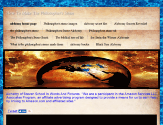 howtomakethephilosophersstone.com screenshot