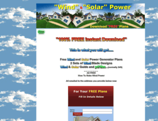 howtomakewindpower.com screenshot
