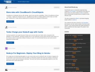 howtonode.org screenshot