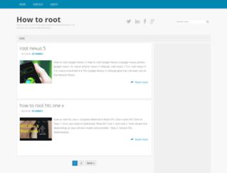 howtoroot4.blogspot.com screenshot