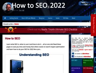 howtoseo.link2light.com screenshot