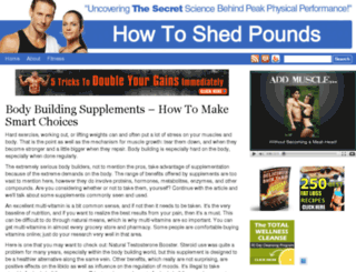 howtoshedpounds.com screenshot