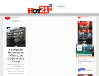 hoy21.com screenshot