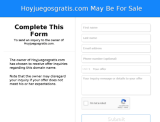 hoyjuegosgratis.com screenshot