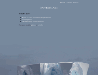 hoylen.com screenshot