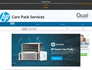 hp-care-pack-services.co.uk screenshot